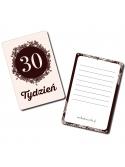 Moje Pierwsze 9 Miesięcy Czerń i Biel 16 kart