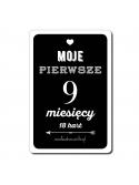 Moje Pierwsze 9 Miesięcy FioletLove 18 kart