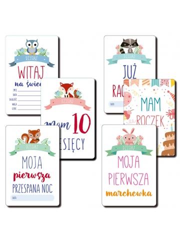 Mój Pierwszy Rok Życia Mała Księżniczka 18 kart